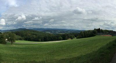 Im Bayrischen Wald: Wiesenfelden – Pilgramsberg – Stallwang